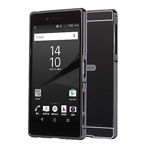 Bumper Sony Xperia Z5 - Meimeiwu 2 en 1 Luxe Mirror Arrière