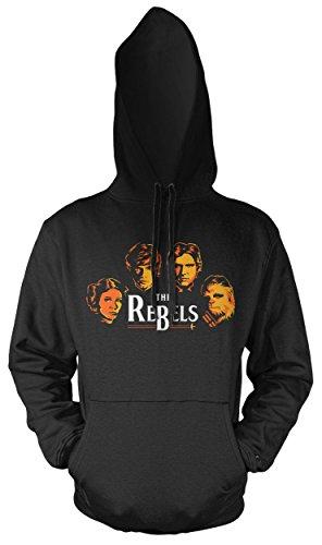 The Rebels Männer und Herren Kapuzenpullover | Star Wars Vintage Empire Geschenk ||| (XL) (Rebel Star Wars Kostüm)
