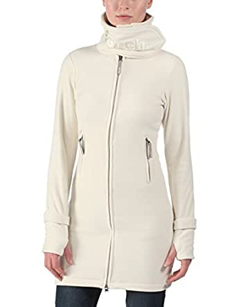 Bench Women's Funnel Neck Long Sleeve Jumper, Off-White (Cream), Size 12 (Manufacturer Size:Medium)