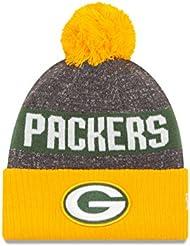 Packers de Green Bay sur champ Envers 2016Sport en tricot Sideline Bonnet Casquette NFL New Era