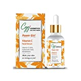CGG Cosmetics Vitamin C 20%, Hyaluronic Acid, and Glutathione Facial Serum - Anti-Aging