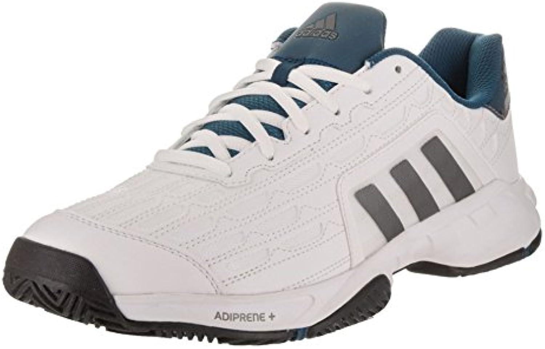 Adidas Hombre Barricade Court 2 Zapatos de Tenis Blanco  -