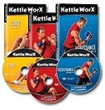 KettleWorx 2013 Advanced - 3 Kettlebell Training DVD Set