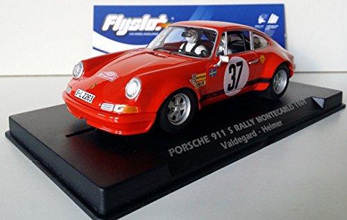 Slot SCX Scalextric Tlyslot 036107 Porsche 911 S Rallye