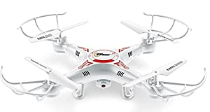 Top Race® TR-Q511 Quad Cam, Ultra Stable 4 Channel Quad Copter quadcopter Remote Control mini Drone, drones fpv with hd Camera & HD Video Recording, Features 1 Key Return and Headless Mode Option from Top Race