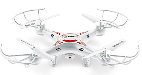Top Race® TR-Q511 Quad Cam, Ultra Stable 4 Channel Quad Copter quadcopter Remote Control mini Drone, drones fpv with hd Camera & HD Video Recording, Features 1 Key Return and Headless Mode Option