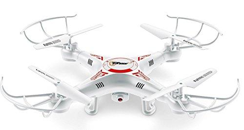 Top Get a unemotional on® TR-Q511 Quad hd Kamera, ultrastabil 4-Kanal Quad-Copter Drone Drohne mit Kamera & Videoaufnahme, mit 1 Rückkehr- und Gewindemodusoption, fpv, mini rc, dji k syma
