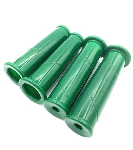 Schubkarrengriffe 30 mm, grün, 4 Stück