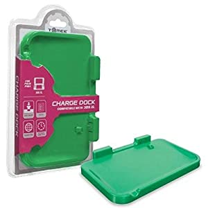 Tomee 3DS XL AC Charge Dock Station Base (Green) – Nintendo 3DS by Tomee