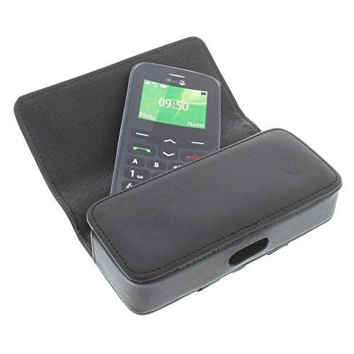 Tasche für Doro PhoneEasy 508 PhoneEasy 520X Quertasche Handytasche Schutz Hülle schwarz