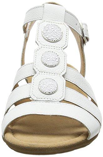 GaborEartha - Sandali donna Bianco (White Leather)