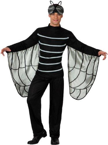 Imagen de atosa  disfraz de mosca para hombre, talla m/l 15613