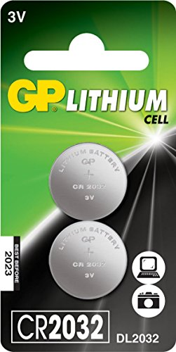 GP Batteries Lithium Cell CR2032 Single-use battery Litio 3 V - Pilas (Single-use battery, CR2032, Litio, Botón/moneda,...