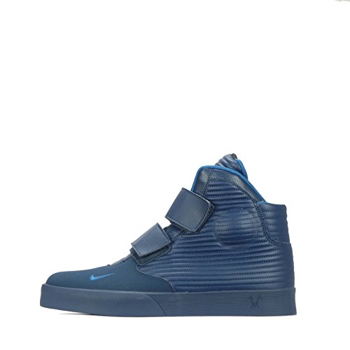 Nike Herren Flystepper 2K3 Basketball Turnschuhe, Blau (Squadron Blue/Brgd BL-Brgd BL), 44 EU (Air Schwarz Max Und Blau 95)