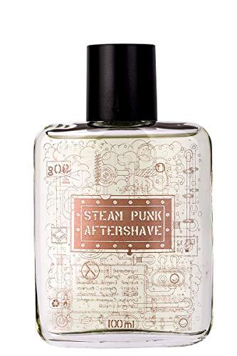 Steam Punk After Shave - by Pan Drwal & Adam Szulc Barber | Aftershave für Männer nach der Gesichtsrasur | vermeidet Pickel und Rasurbrand nach der Rasur | vom Profi-Barbier entwickelt | frischer Duft -
