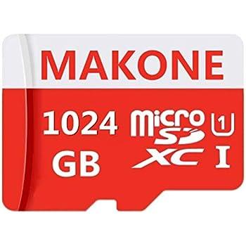MAKONE - Tarjeta Micro SD de 1 TB con Adaptador SD para ...