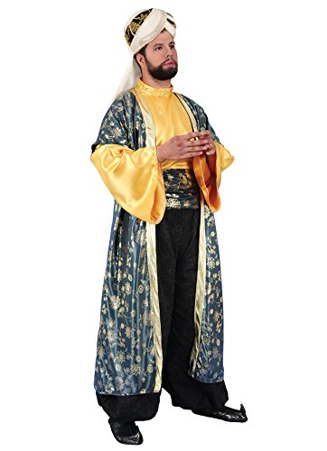 König Für Balthasar Erwachsene Kostüm - Chiber - Heilige Drei Könige Melchior-Kostüm für Erwachsene