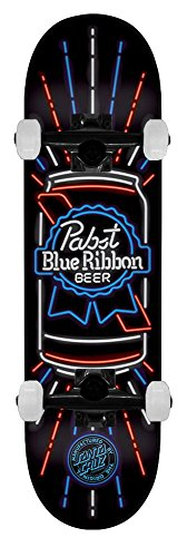 santa-cruz-skateboard-pabst-blue-ribbon-pbr-neon-8375-black-trucks-assembled