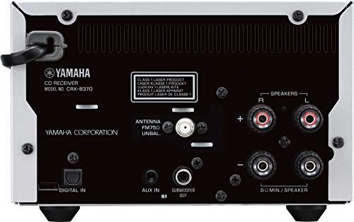 Yamaha MCR-B370D Silber/Schwarz