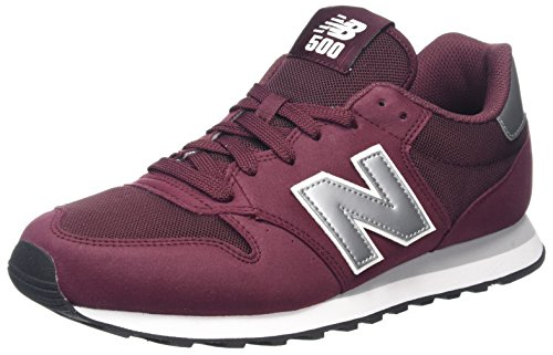 New Balance Herren GM500 Sneaker, Rot (Burgundy/GM500BUS), 42 EU