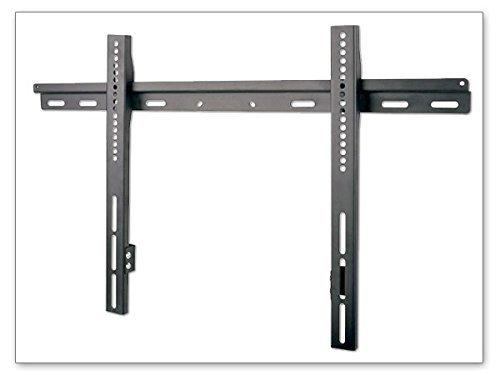 TV Monitor Halterung in schwarz für PC und TV ab 30« Zoll Flach Slim Wand TV Wandhalterung LED LCD TFT Plasma Wandhalter Zoll VESA min. 50 x 50 (5x5 cm) bis max. 690 x 480 (69x48 cm) universell passend für LG und alle anderen TV und Monitor Hersteller - S16