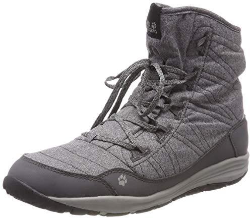 Jack Wolfskin Portland Boot W, Chaussures de Randonnée Hautes Femme, Noir