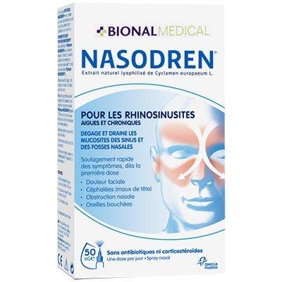 NASODREN NASODREN - Spray 50 mg