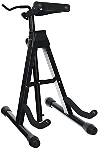 Stagg 14581 Folding Violin Stand with Bow Holder
