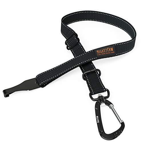 Mighty Paw Cinturón de Seguridad, el cinturón de Seguridad del Perro, Pestillo Barra de Archivos adjuntos para óptimo de Seguridad...