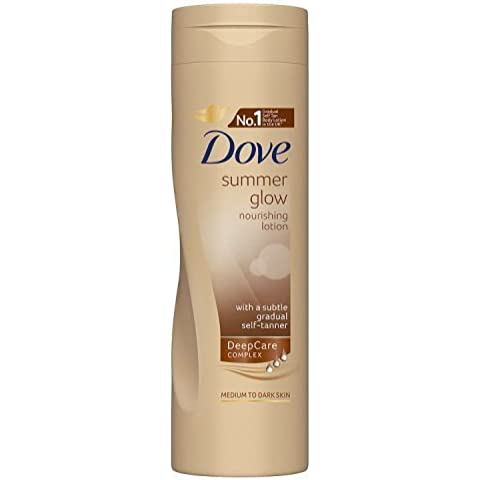 Dove Summer Glow Nourishing Lotion for Normal to Dark Skin 250ml
