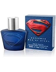 SUPERMAN Man of Steel Eau de Toilette Natural Spray 30 ml