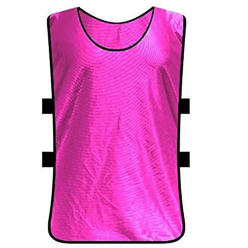 T-Shirts Sport Trikots Fußball Weste Atmungsaktive Premium Polyester Fußball Scrimmage Team Trainingswesten Für Erwachsene Kinder Jugend Fußball Basketball Lässig Bequem -