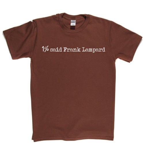 1% Said Frank Lampard Football Foory T-shirt Braun
