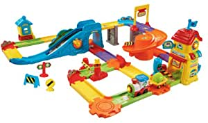 VTech Go! Go! Smart Wheels - Train Station Playset (Manufacturer recommended age: 12 months - 5 years)