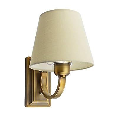 Cloth Shade Arm Wall Lamp E14