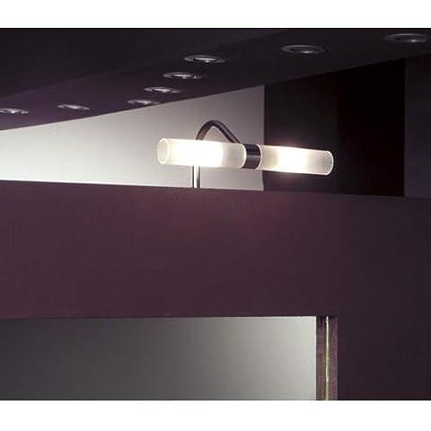 Heitronic - Luce da incasso per specchio/mobiletto bagno Winter