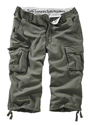 Surplus Trooper Legend 3/4 Shorts, oliv, Größe 7XL