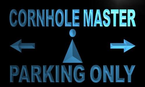 adv-pro-m247-b-cornhole-master-parking-only-neon-light-sign-barlicht-neonlicht-lichtwerbung
