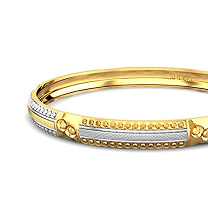 Candere By Kalyan Jewellers Contemporary Collection 22k Yellow Gold Arianna Bangle