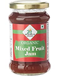24 Mantra Organic Mixed Fruit Jam, 350g