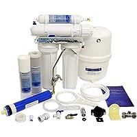 Finerfilters Domestic Home - Sistema de osmosis inversa de 4 etapas con eliminación de fluoruro (