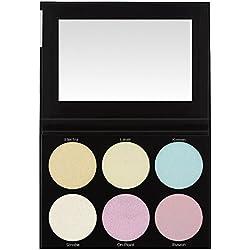 Blacklight Highlight - 6 Farben Highlighter Palette
