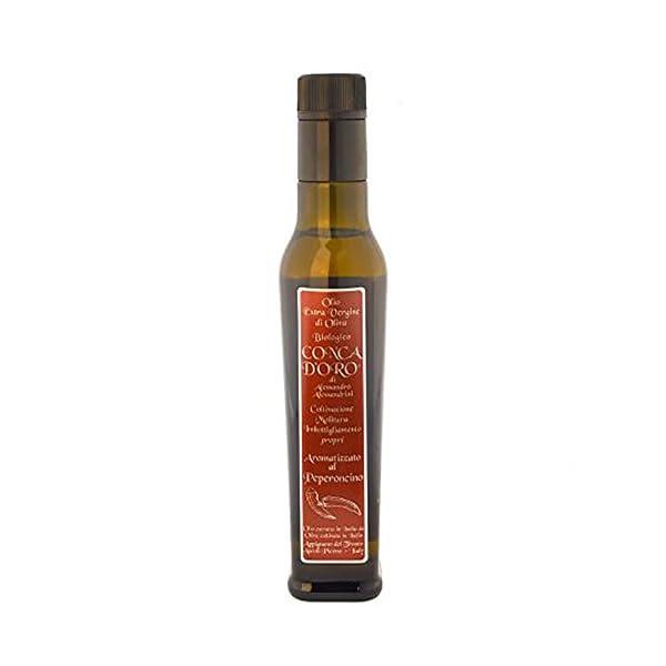Olio extra vergine Biologico aromatizzato peperoncino - 25cl