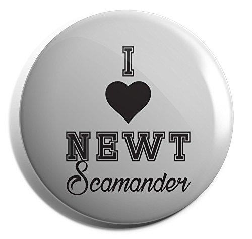 Hippowarehouse I Love Newt Scamander Badge Pin 25mm 38mm 50mm