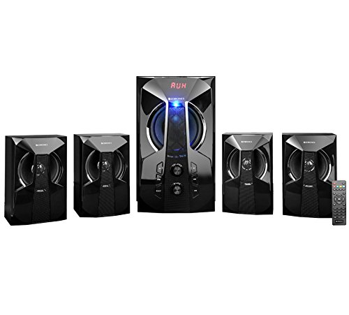 Zebronics Zeb-Zen 4.1 Channel Multimedia Speaker with Bluetooth & Remote