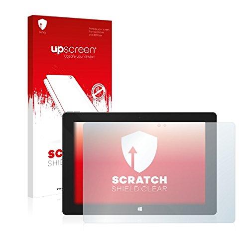 upscreen Scratch Shield Clear Bildschirmschutz Schutzfolie für One Xcellent 10 (hochtransparent, hoher Kratzschutz)