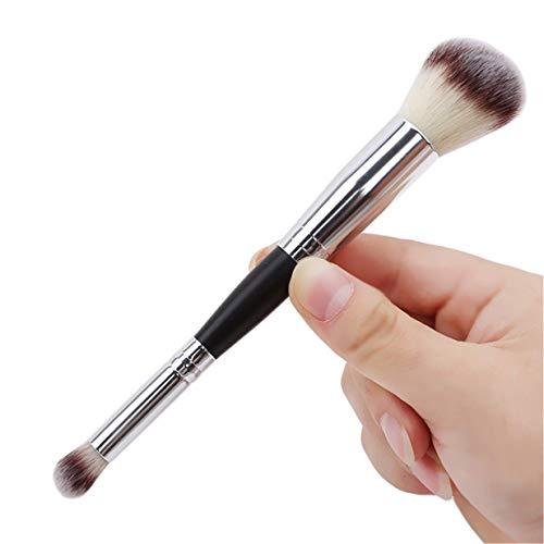 Aofocy Premium Multifonction Double Tête Fondation Brosses Fard À Paupières Poudre Blush Brosses Visage Outil De Maquillage Pinceau