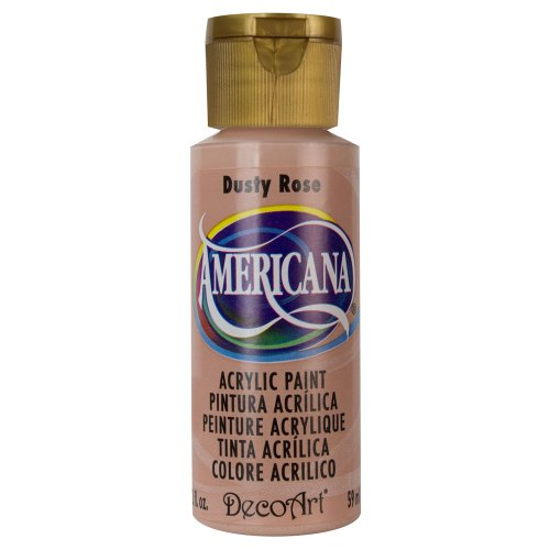 DecoArt Americana Mehrzweck-Acrylfarbe, 59 ml, Dusty Rose