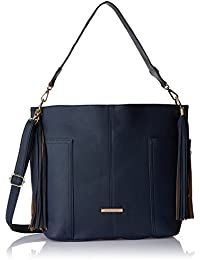 Stella Ricci Women's Shoulder Bag (Navy Blue) (SR218HNBLU)