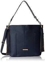 Stella Ricci Womens Shoulder Bag (Navy Blue) (SR218HNBLU)